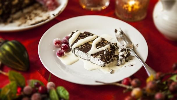 Soft chocolate nougat torrone molle recipe christmas pudding bbc food recipes soft chocolate nougat torrone molle forumfinder Image collections