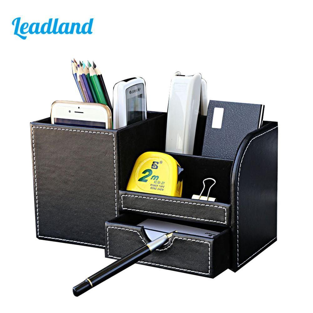 Multi-function Desk Stationery Organizer Pen Holder Pens Stand Pencil  Organizer for Desk Office Accessories