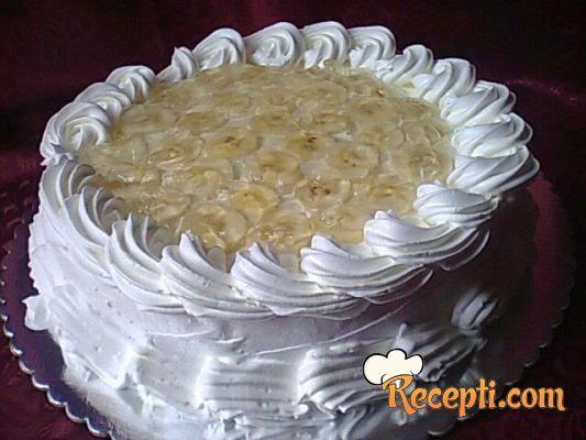 Voćna torta sa bananama (2)