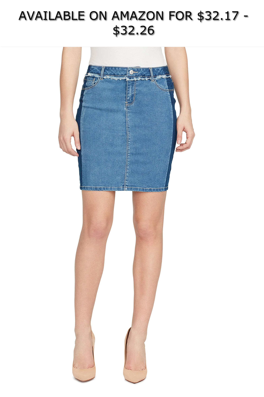 5e37291a487d5d Black Daisy Women's Shadow Stripe Mini Skirt ◇ AVAILABLE ON AMAZON FOR:  $32.17 - $32.26