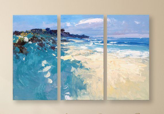 Abstract Art For Beach House