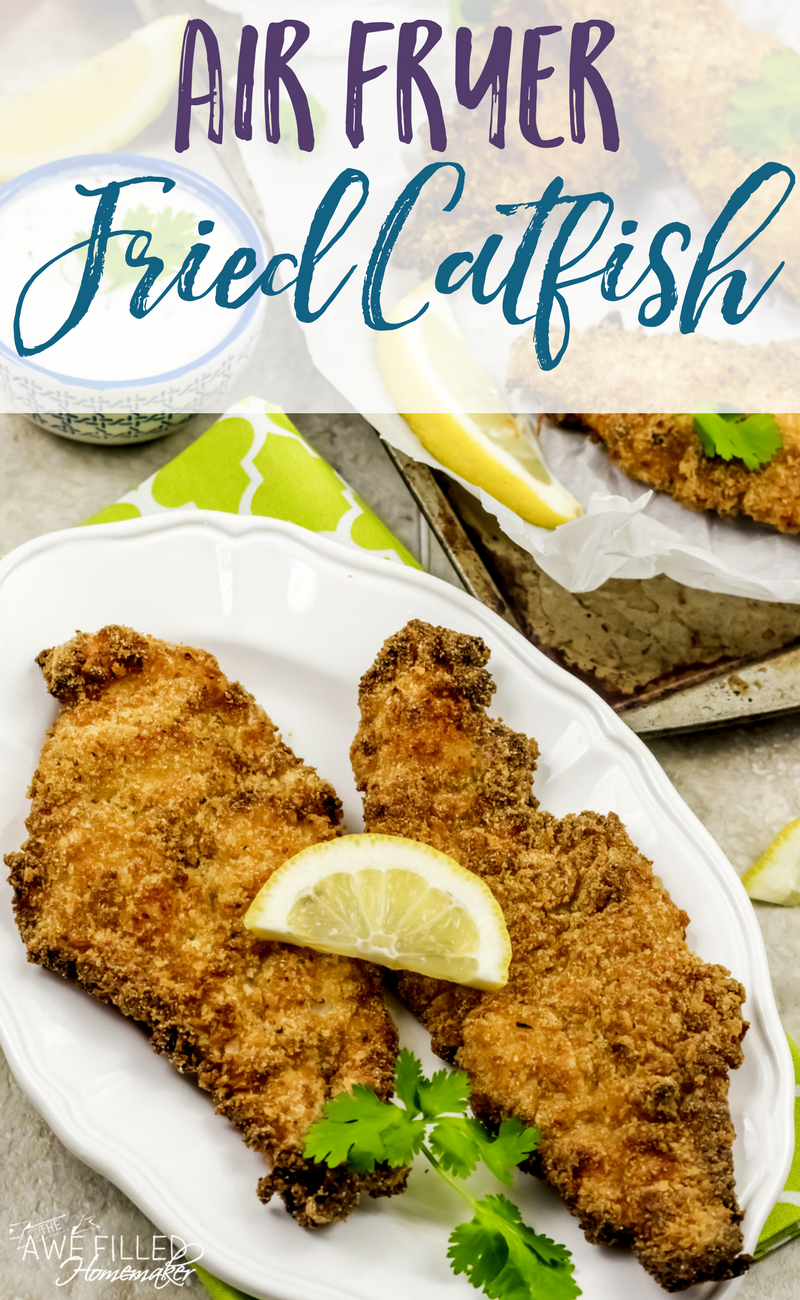 Air Fryer Fried Catfish Recipe Fried catfish, Air