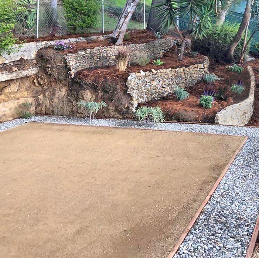 Decomposed Granite Patio Decomposed Granite Patio Decomposed Granite Hardscape Backyard