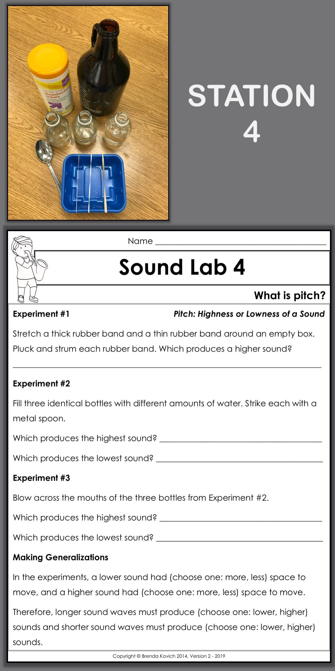 Enjoy Teaching Sound with Physics Activities for Kids   Teaching sound [ 2249 x 1125 Pixel ]