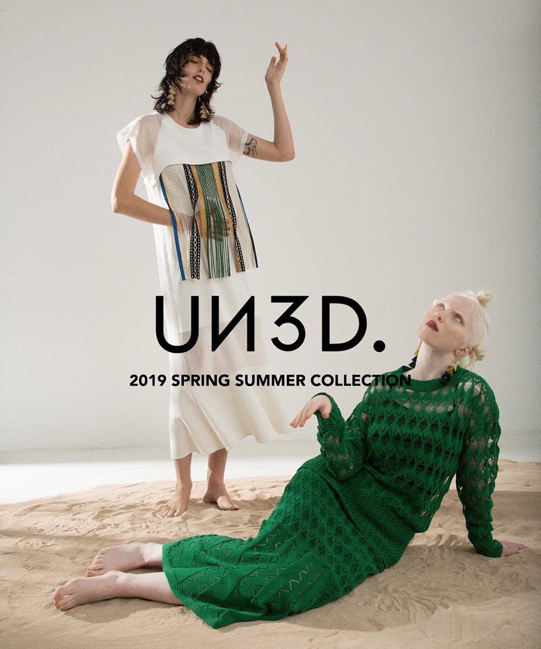 un3d さん un3d official instagram写真と動画 summer collection spring summer green fashion