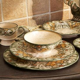 Gypsy Purple Entertaining and event find Some fabulous Italian dinnerware. & Gypsy Purple: Entertaining and event find: Some fabulous Italian ...