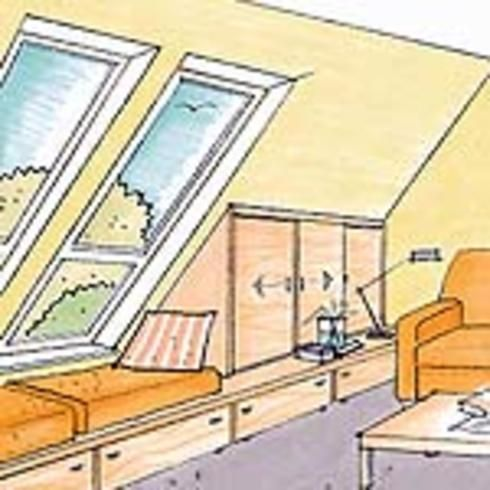 dachschr ge nutzen in 2019 wohnung dachschr ge schr g und dachschr ge einrichten. Black Bedroom Furniture Sets. Home Design Ideas