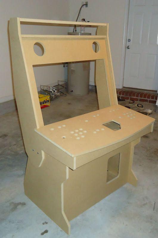 Kraylix Mame Arcade Cabinet Plans Diy Arcade Cabinet
