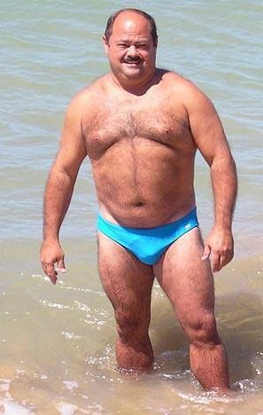 Mature men in speedo galleries