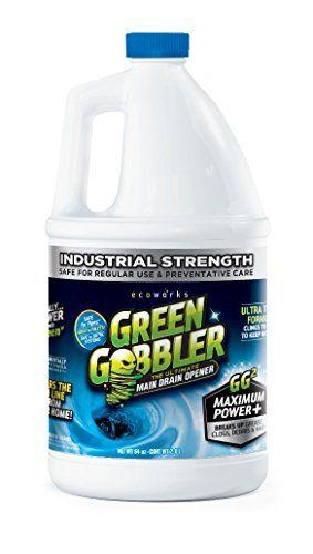 GREEN GOBBLER Ultimate Main Drain Opener + Hair 76 0z. [Home ...