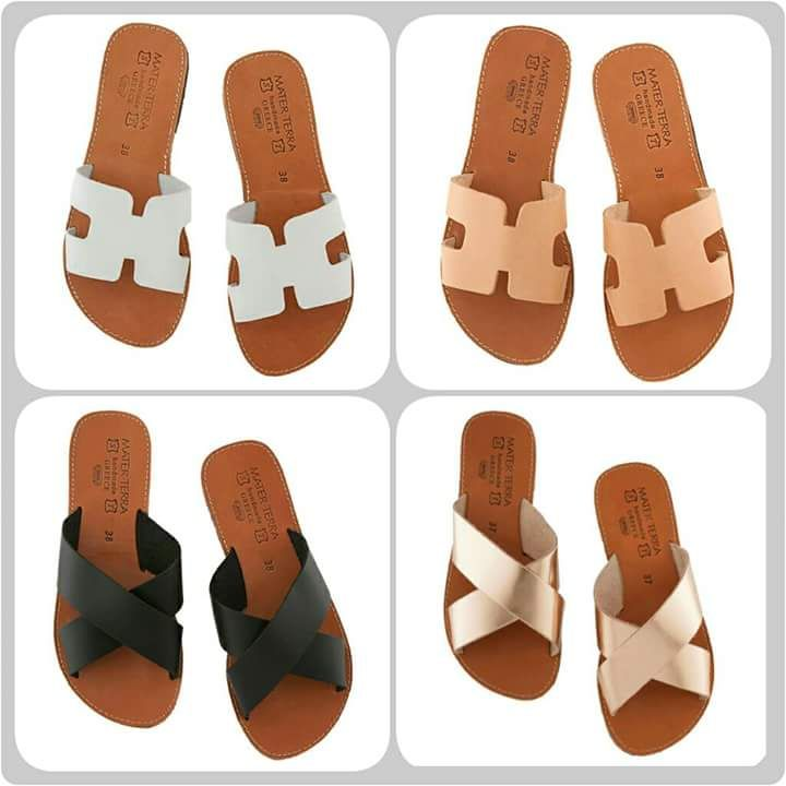 9986749dff3a Pin by Mater Terra Sandals on Leather flip flops
