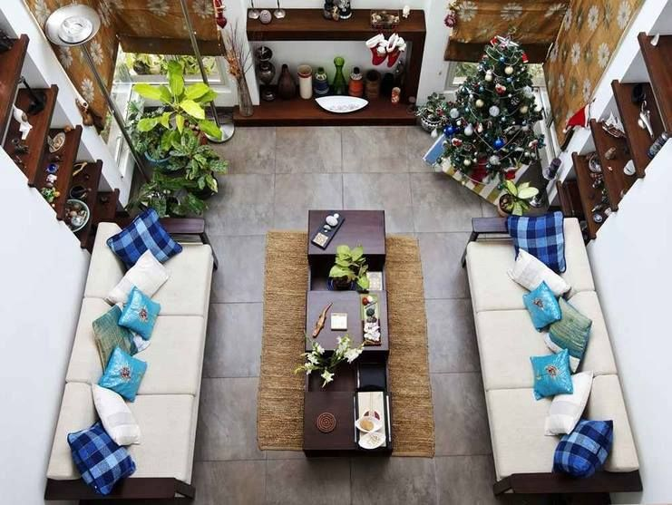"""#ZingySpotlight Today - A plush #villa interior designed by bangalore based #architecture and #interior design firm """"Deep And Hana Architects"""" in #Bangalore, #Karnataka.  Here are some design pictures http://www.zingyhomes.com/project-detail/deep-and-hana-architects-_66/villa-interiors-for-siji-rehana-and-sudeep-parambath/  Interior designers, to showcase your own projects on over 200+ social accounts and communities, join www.zingyhomes.com"""