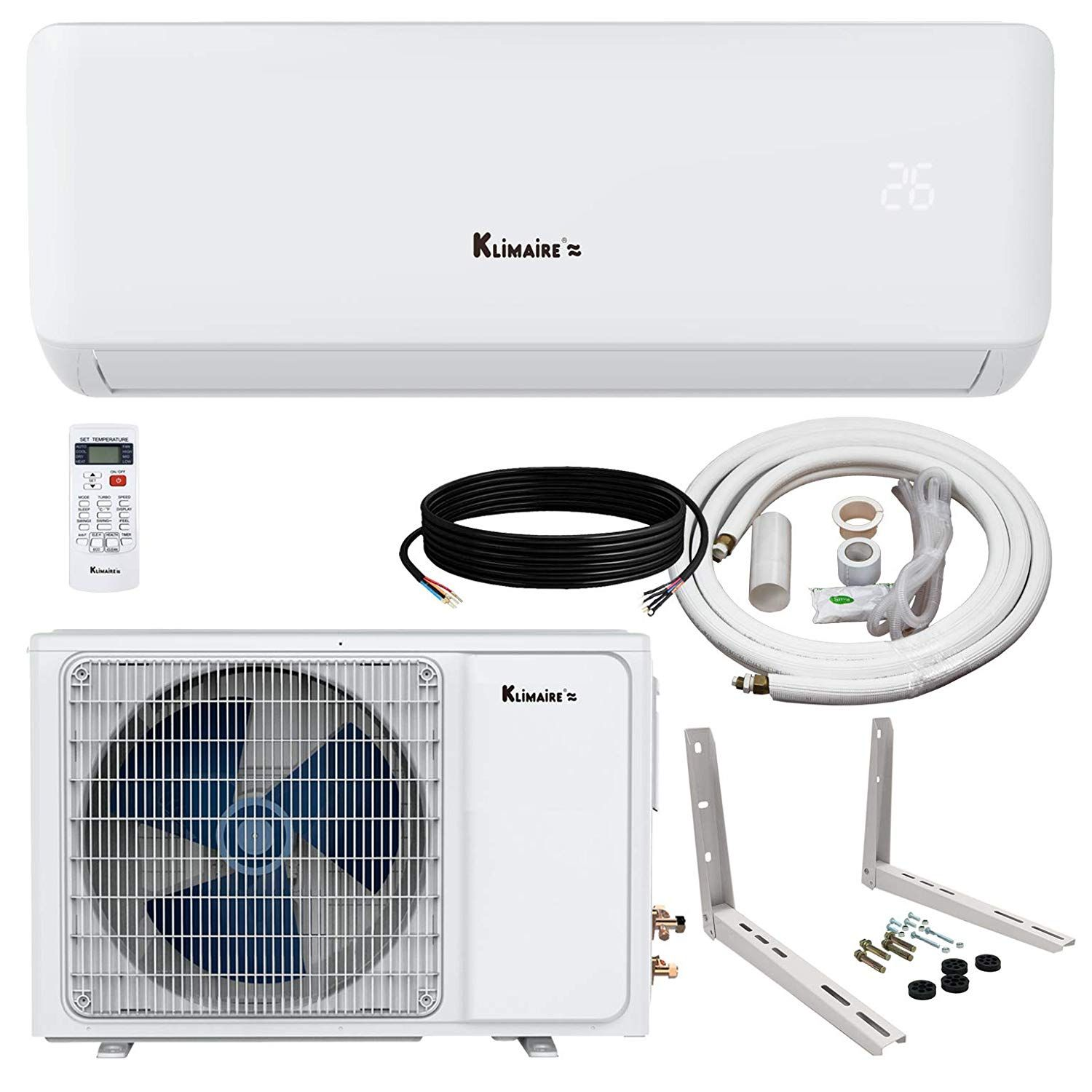 The Best Ductless Mini Split AC Systems Complete 2019