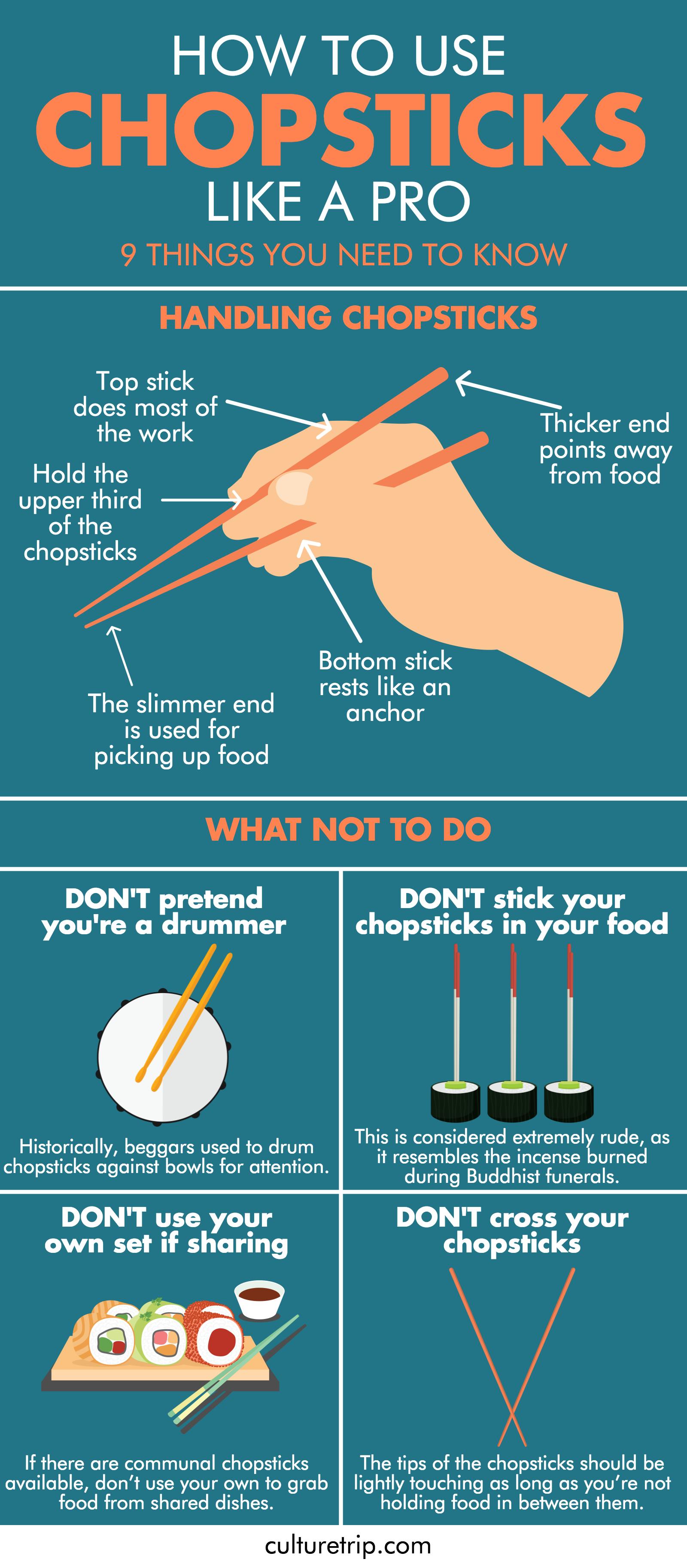 The Essential Guide To Chopsticks Etiquette
