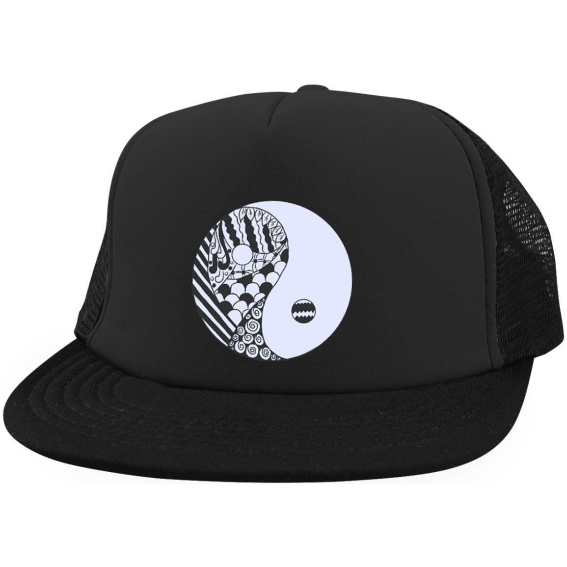 Yin Yang Snapback Cap | Products | Pinterest