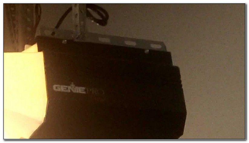 Genie Pro Max Garage Door Opener Not Working Garage Door Opener