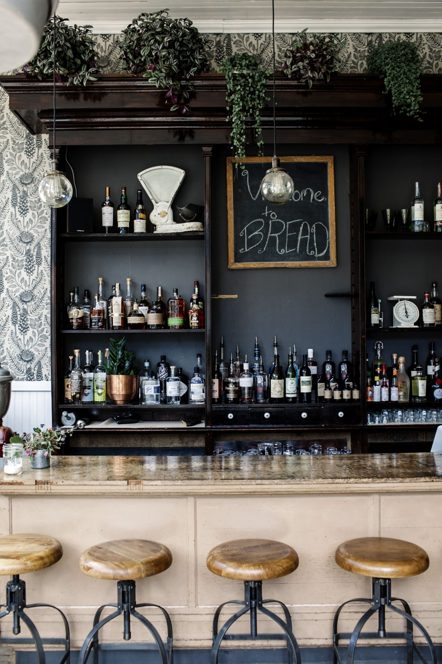 Bread Bar An Old Time Cocktail Bar In An 1800s Bakery In The Mountains Remodelista Home Bar Designs Cocktail Bar Interior Home Bar Decor