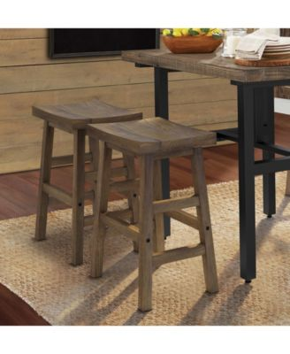Pomona 36 H Reclaimed Wood Counter Height Dining Table Brown
