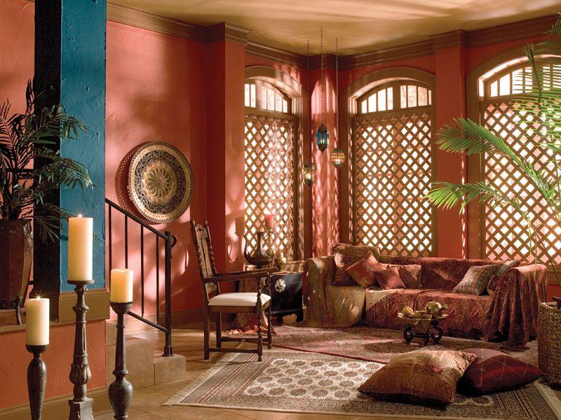 Turkish Living Room Clay Pots Terracotta And Mosaics
