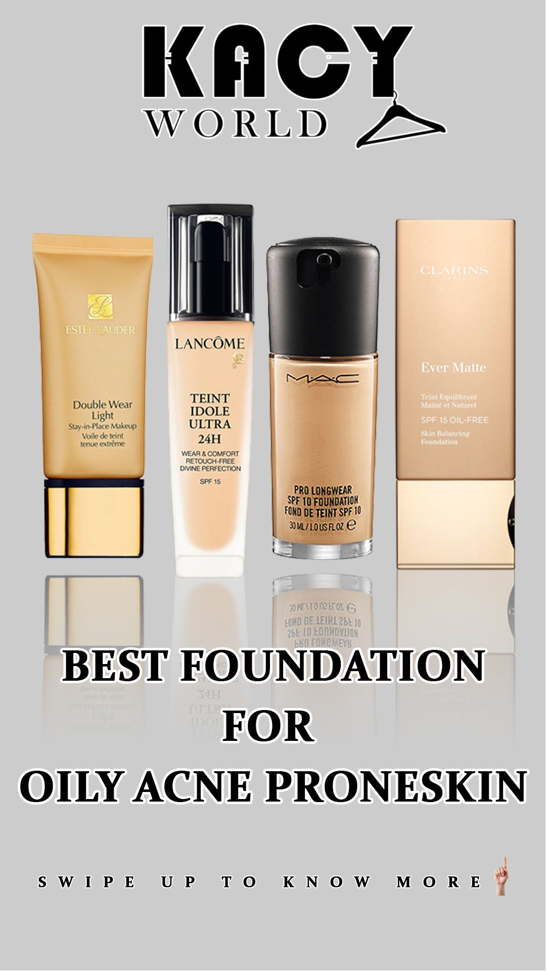 Best foundation for oily acne prone skin
