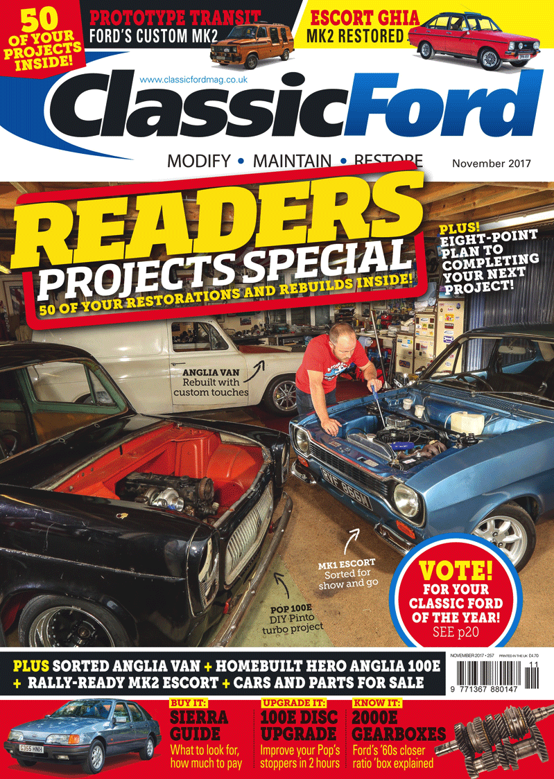 Classic Ford November 2017 issue out now! Find out who in the UK ...