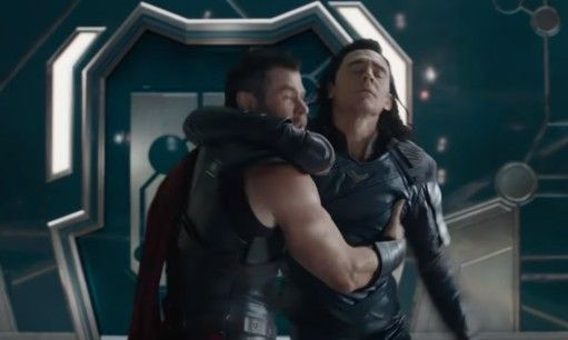 The closest they got to their hug  Loki complains about