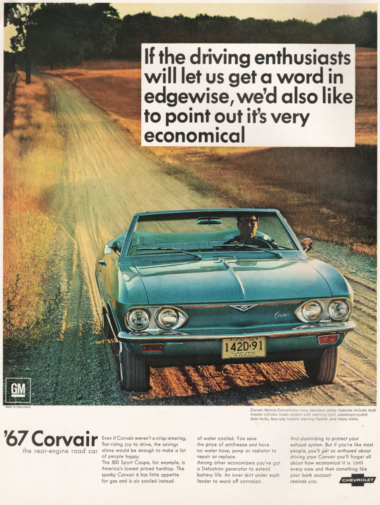1967 Chevy Corvair Monza Convertible Ad In 2020 Chevrolet Corvair Chevy Corvair Chevrolet