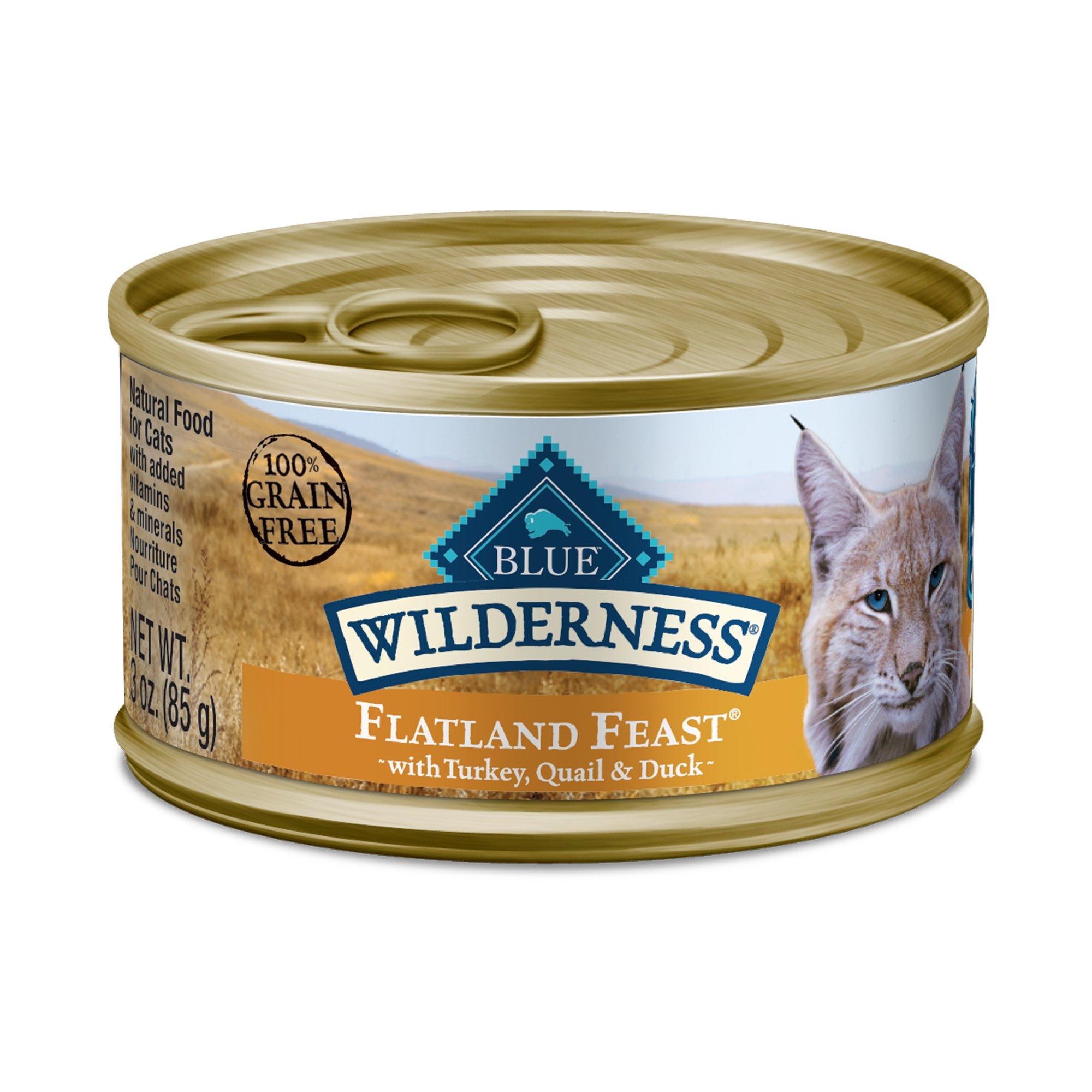 Blue Buffalo Wilderness Regionals Flatland Feast Wet Cat Food 3 Oz Case Of 24 24 X 3 Oz In 2019 Products Cat Food Canned Cat Food Food