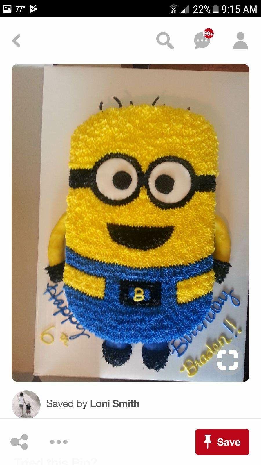 Minion Torte Cake Designs Birthday Cakes 3rd