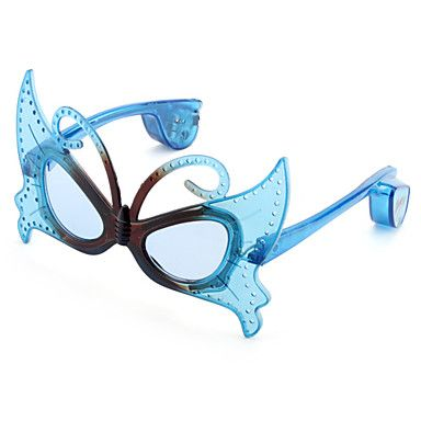Fun butterfly glasses in blue what is not to like