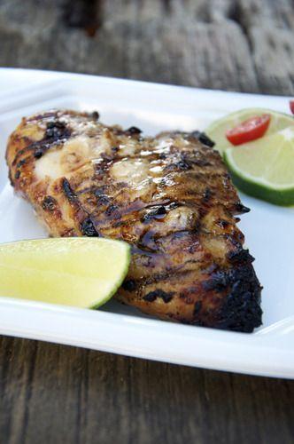 Grilled Honey-Lime Chicken #honeylimechicken