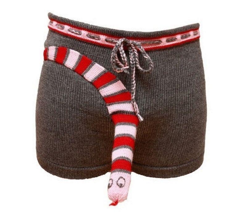 Gestrickte Unterhosen Für Den Herren Anziehsachen Pinterest