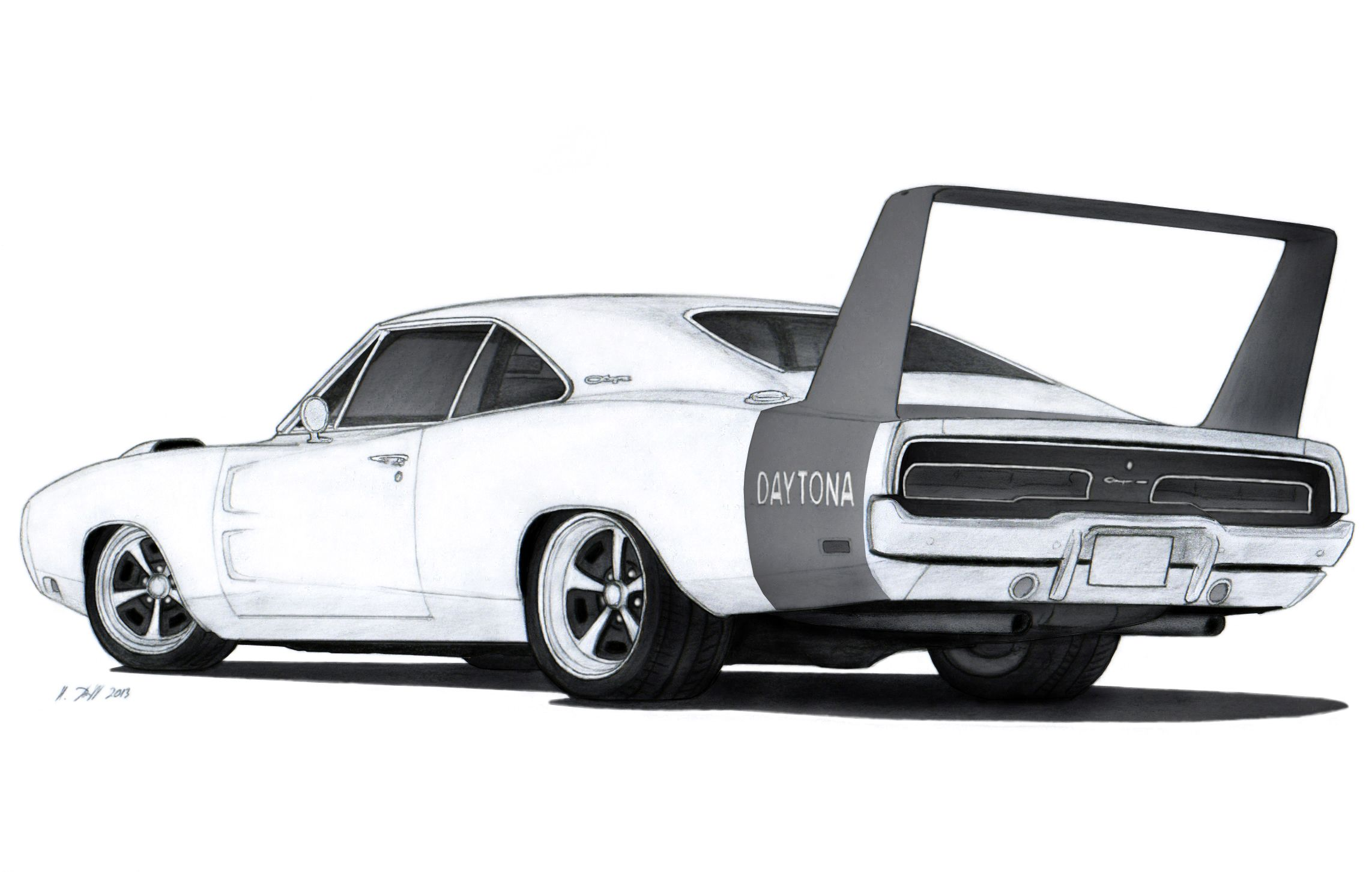 1969 dodge charger daytona drawing by vertualissimo deviantart com rh pinterest com