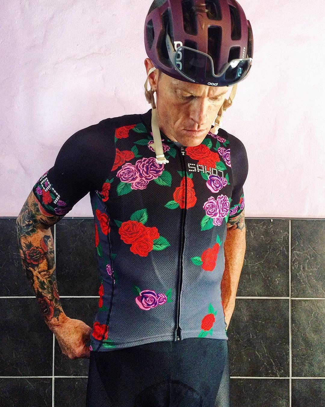 Roses are blooming out of my chest.  #sako7socks | #sako7kit #pocsports | #poc | #bioracer by sean_sako