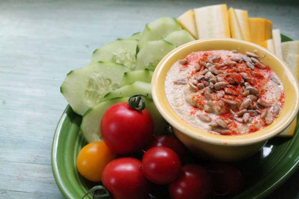 Homestead Survival: Zucchini and Summer Squash Hummus Recipe