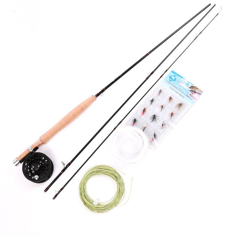 Maximumcatch Fly Fishing Rod Combo 6ft 2wt 3pcs Super Light Carbon Fly Rod Combo Fly Fishing Rods Fly Rods Fish