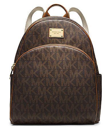 45066c457137 MICHAEL Michael Kors Signature Jet Set Large Backpack #Dillards ...