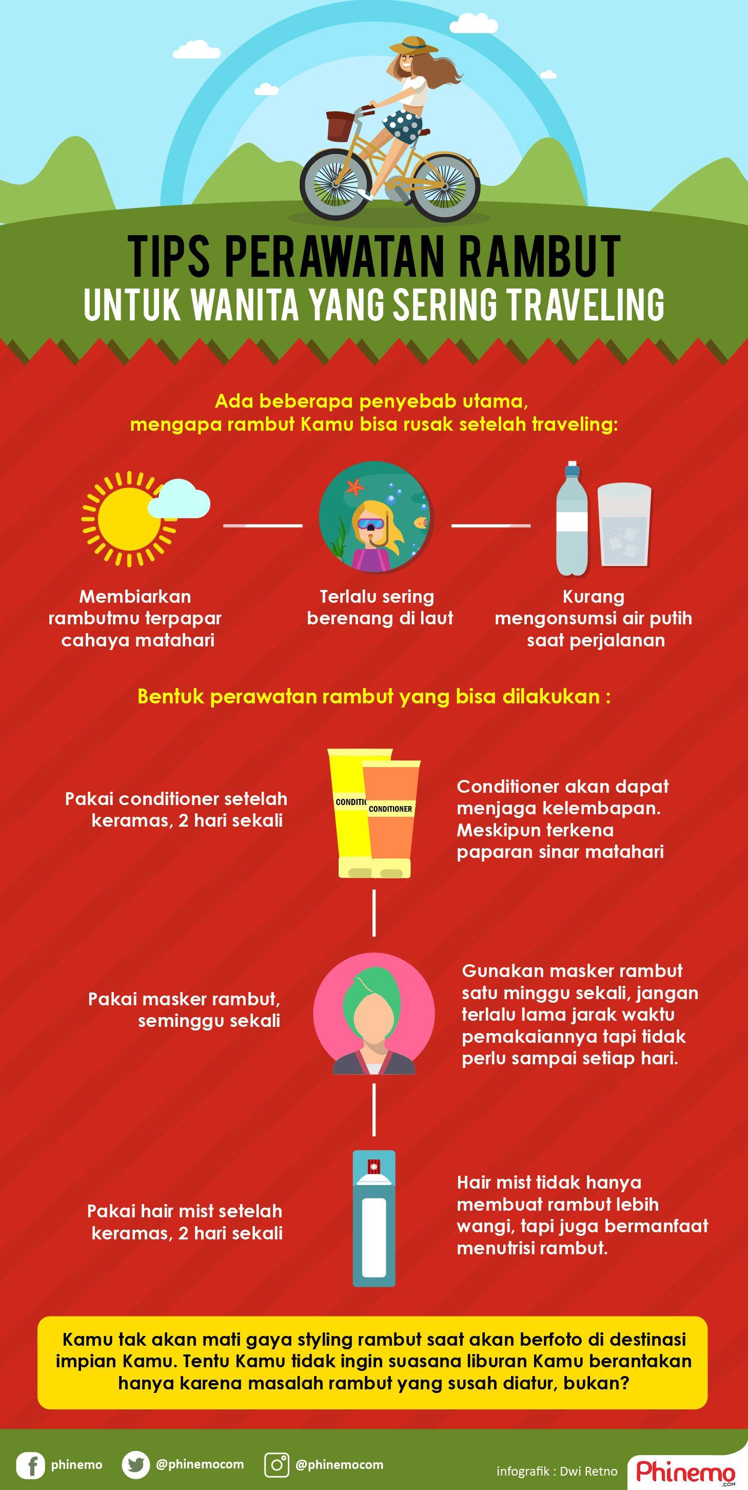 Perawatan Rambut Ini, Cocok Banget Untuk Kamu yang Sering