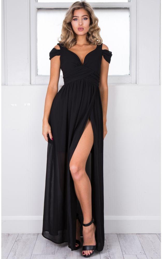 c9a1606fa57 Stand Close dress in black SHOWPO Fashion Online