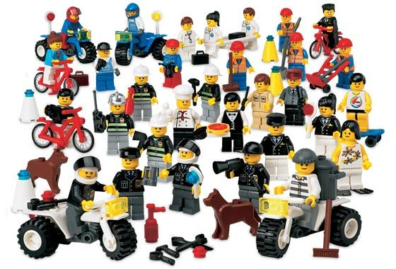 9247 2 Community Workers In 2020 Lego Education Community Workers Lego People