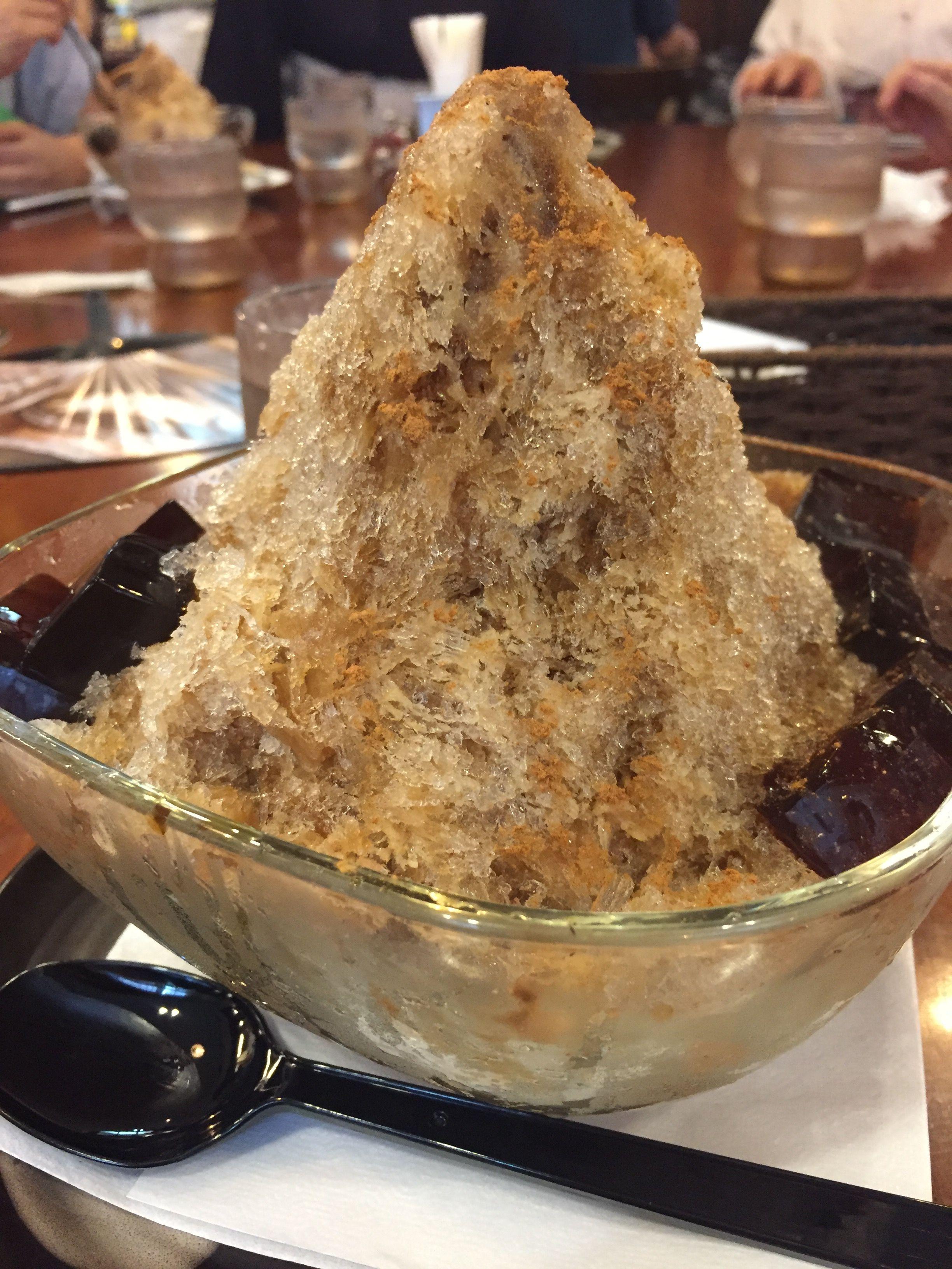 Cappuccino Shaved Ice Maeda Coffee Kyoto