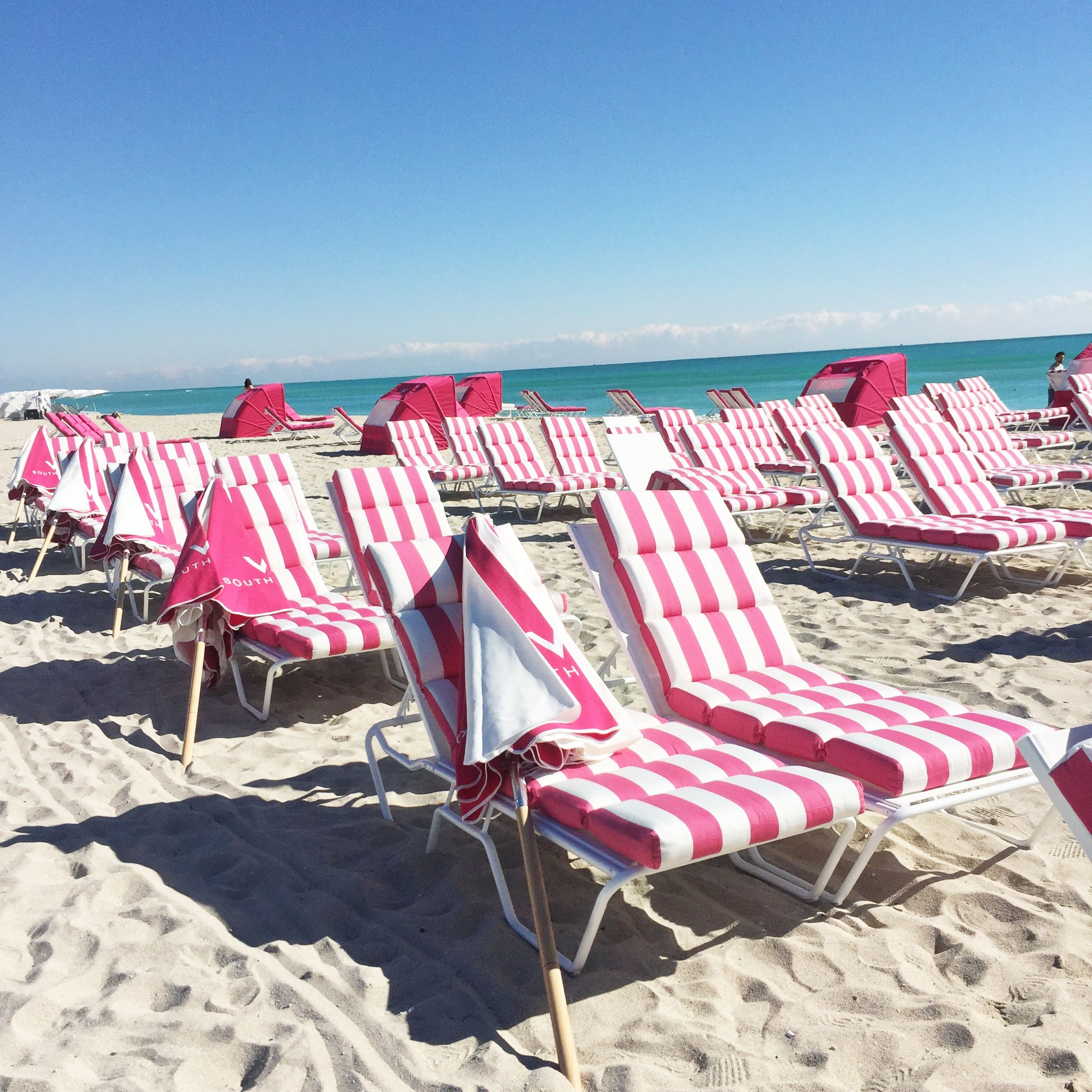 Vacation · Miami, Beach Chairs ...