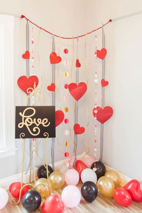 Inspiraci n para decorar en san valent n manualidades for Decoracion amor y amistad