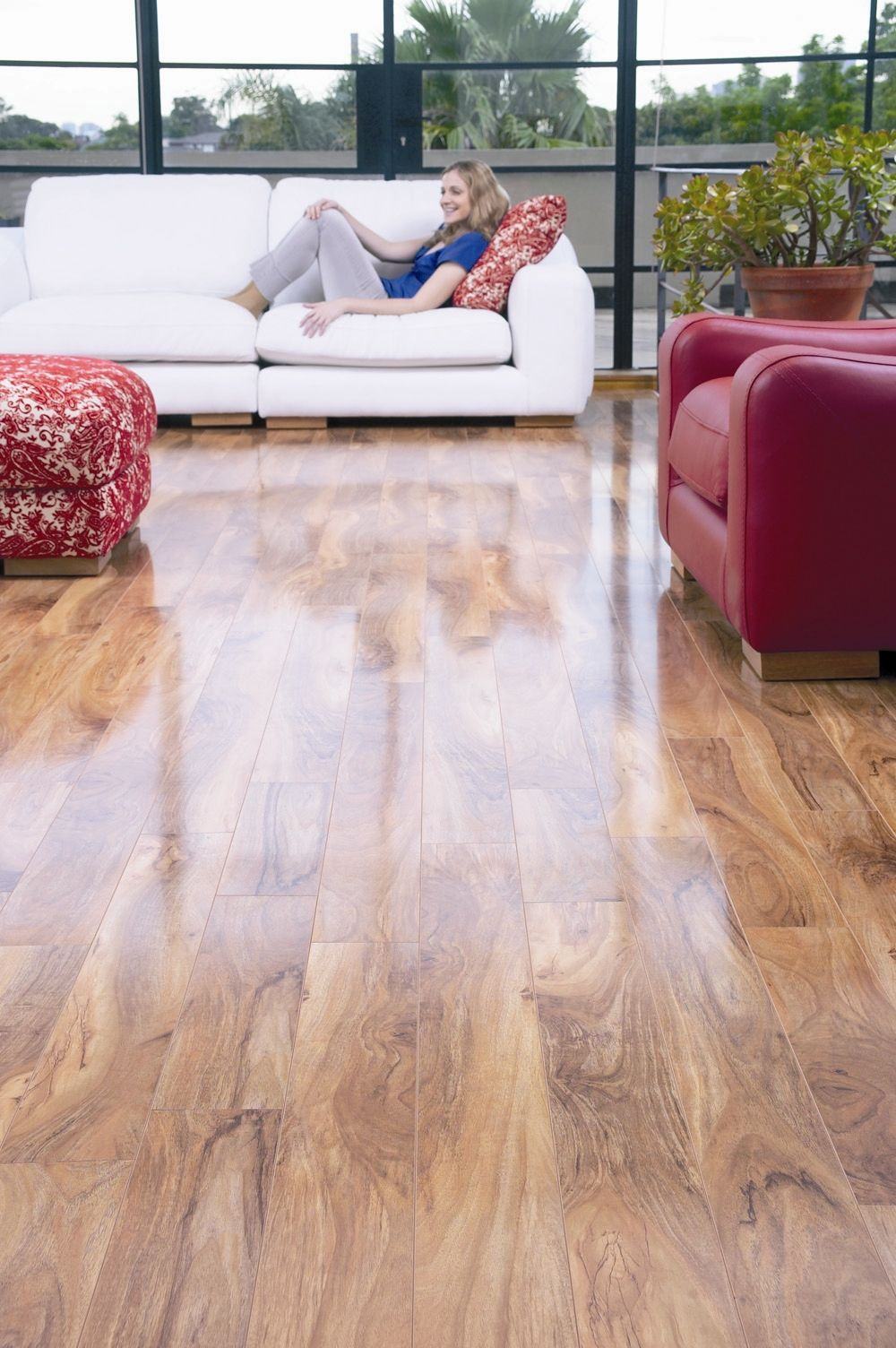 Timber Impressions Laminate Flooring Pacific Walnut