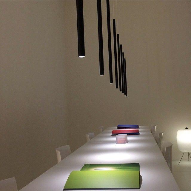Best Ideas For Modern Interiors Design : U2013 Picture : U2013 Description Slim  Euroluce Pendant Mood Lighting Via Cerno Group