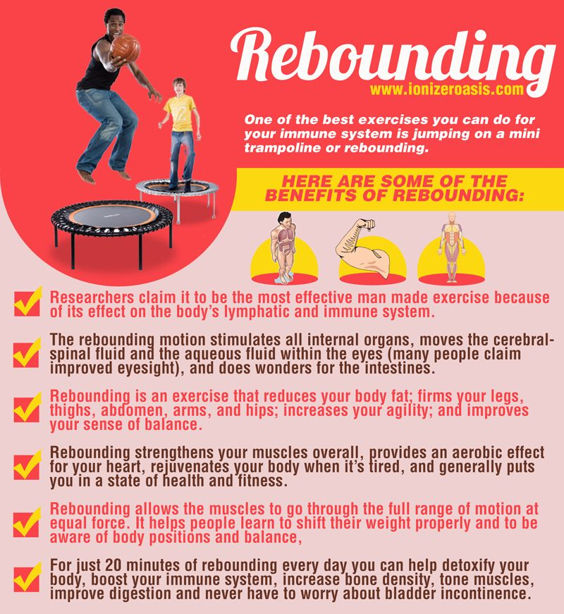 Rebounding, Immune System And Exercises