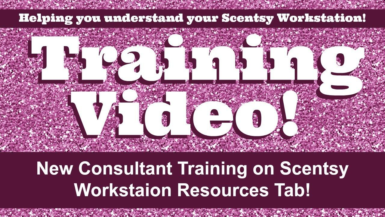 IF you are a new Scentsy consultant the Resources tab in the