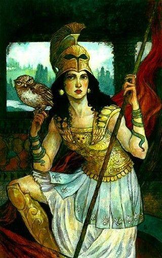 Athena | Ancient Greek goddess of Wisdom and War Strategy ...
