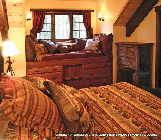 Living quarters in a Barn Pros Denali barn, New Mexico | Barn ...