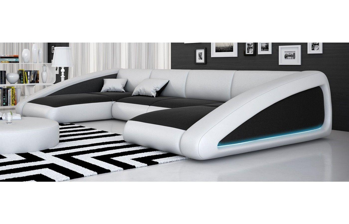 Leder Wohnlandschaft Nassau Ledersofas Sofa